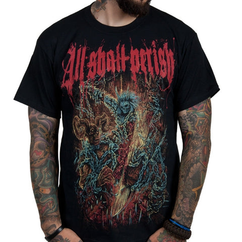 All Shall Perish Chains Shirt