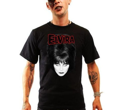 Elvira Big Head Men's T-Shirt