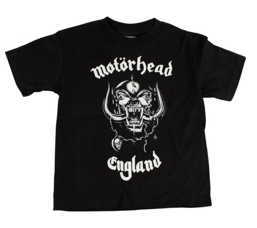 "Motorhead ""England"" Toddler T-Shirt"