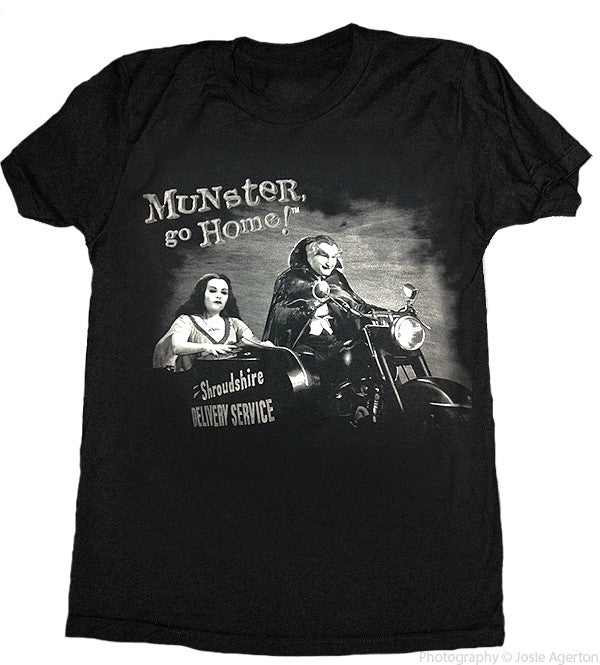 Munsters Go Home Lily, Grandpa T-Shirt