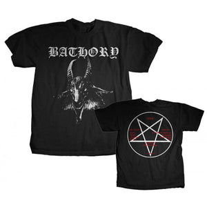 "Bathory ""Goat"" Men's T-Shirt w/ Back Print"
