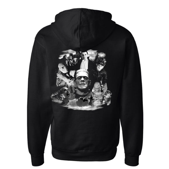 Universal Monsters Collage Hoodie Unisex