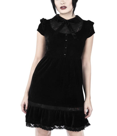 Creeped out baby doll dress