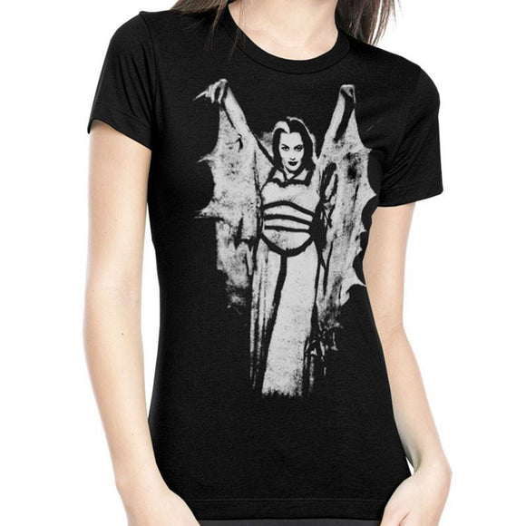Munsters Lily Munster Wings T-Shirt