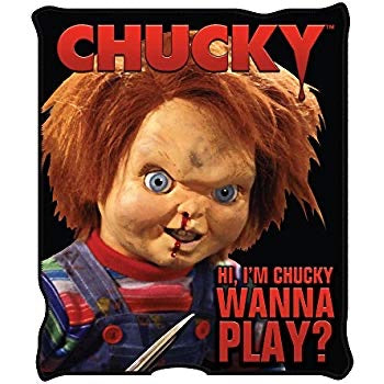 Child's Play Chucky Throw Blanket 50 x 60 Inches