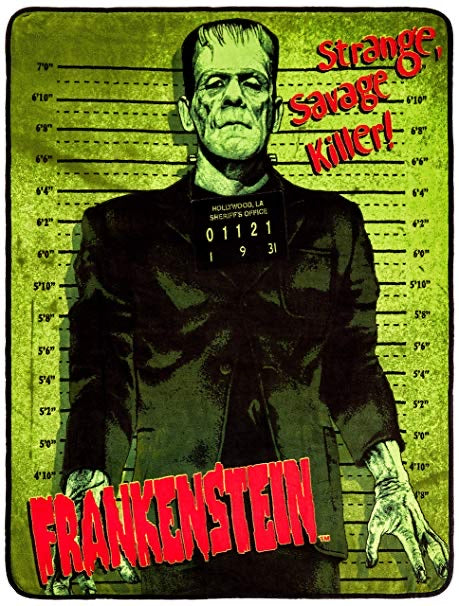 Frankenstein Throw Blanket 50 x 60 Inches
