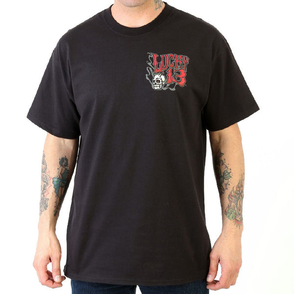 "Lucky 13 ""Lilith"" Hell Bent For Speed Men's Tee"