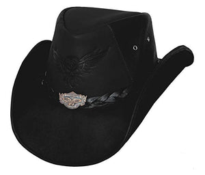 King of the Road Black Cowboy Hat
