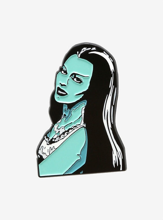 Munsters Lily Munster Pin