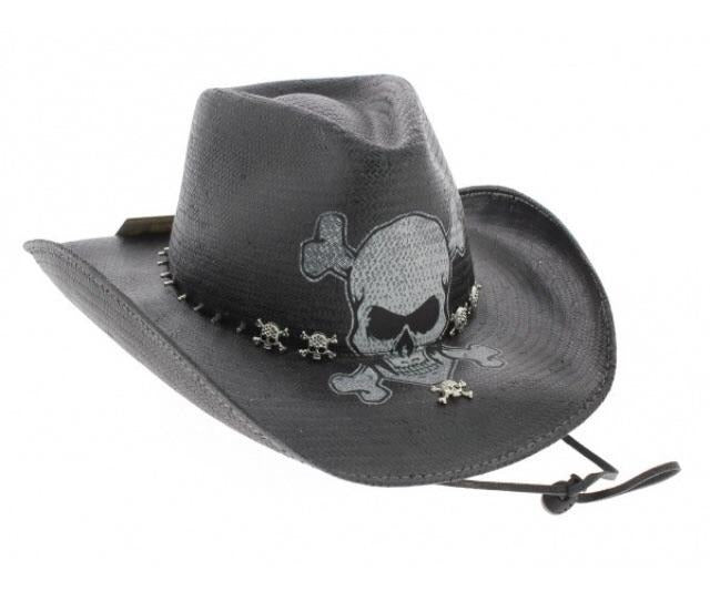 Endless ride skull cowboy hat – Hot Rock Hollywood 9a284bac0292