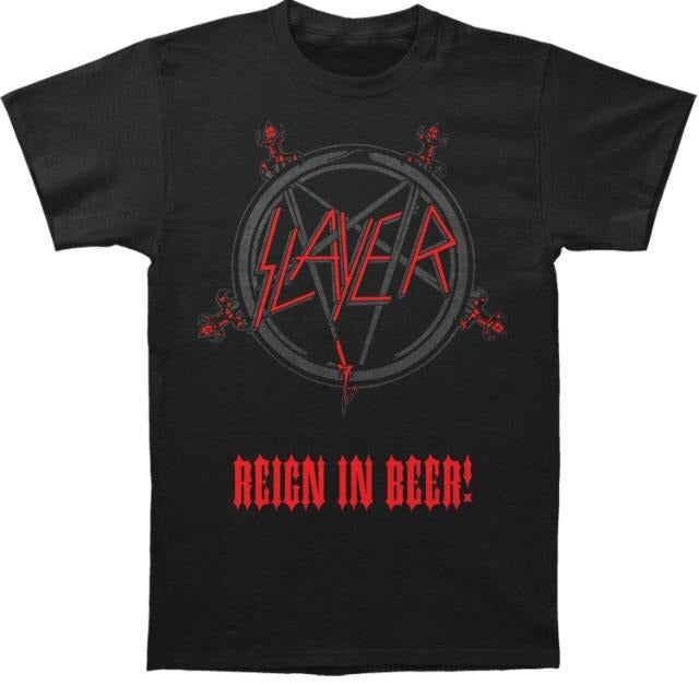 Slayer Reign in Beer T-Shirt