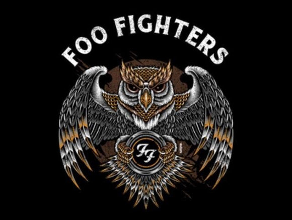 Foo Fighters Owl Slim Fit T-Shirt