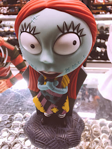 Nightmare Before Christmas Sally Grave Coin Bank Bust