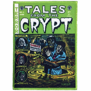 Tales From The Crypt Green Comic Patch