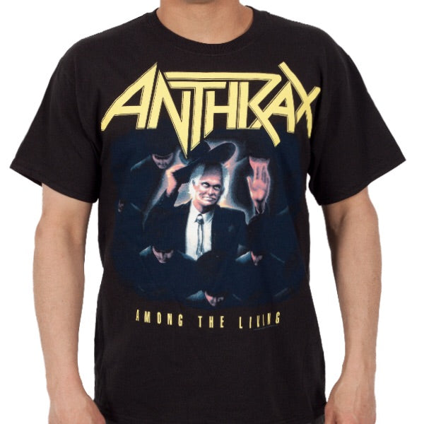 "Anthrax ""Among the Living"" Men's Tee"