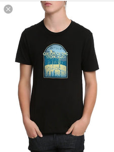 Queens of The Stone Age Floating Cactus Men's Tee