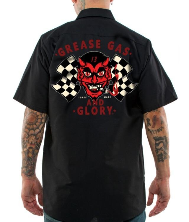 Greasy Devil Workshirt
