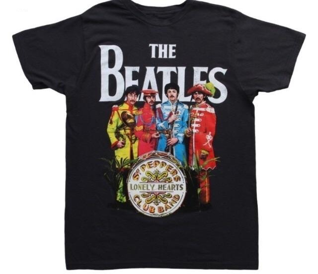 Beatles sgt pepper soft t
