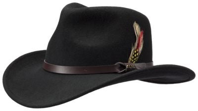 Darwin Crushable Felt Outback Hat