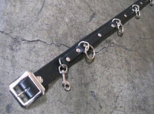 Ape 5 ring bondage belt