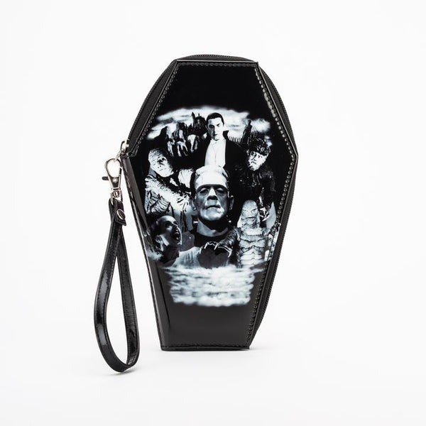 Universal Monsters Coffin Shaped Women's Wallet