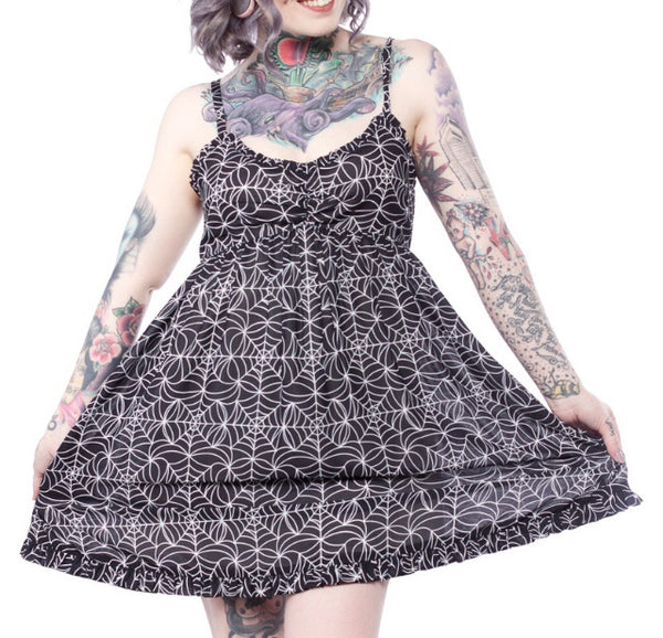 Spider Web Dolly Dress