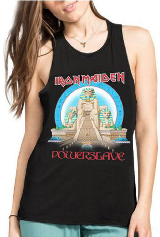 "Iron Maiden ""Powerslave"" Muscle Tank for Women"