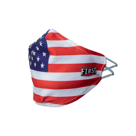 Red White Blue Flag Face Mask