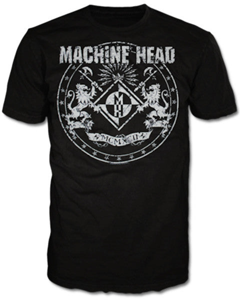 "Machine Head ""Classic Crest"" Men's T-Shirt"