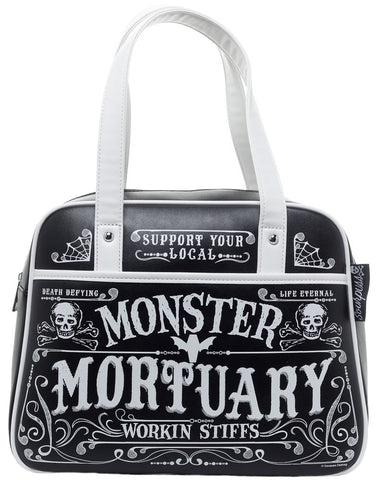 "sourpuss ""monster mortuary"" bag"