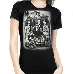 Munsters' Family Portrait Women's Tee (Rock Rebel)