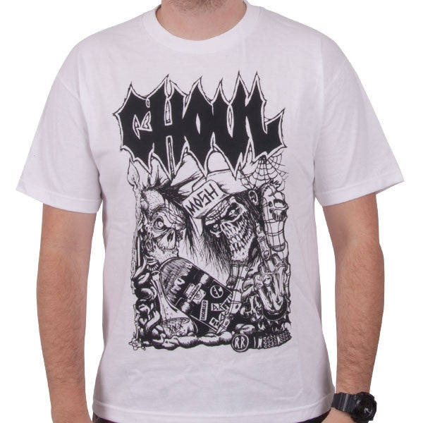 "Ghoul ""Numbskulls"" Men's WHITE T-Shirt"