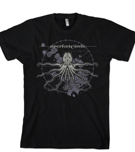 "A Perfect Circle ""Octopus"" Men's SOFT Tee (FEA / LIVE-NATION)"