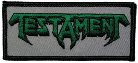 Testament Logo Patch