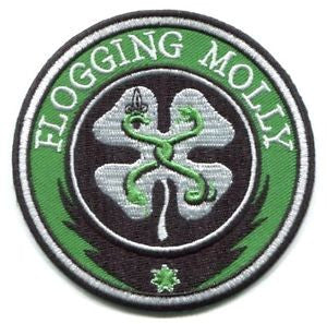Flogging Molly Shamrock Patch