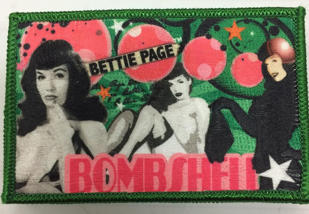 Bettie Page Bombshell Patch