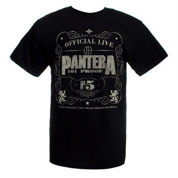 "Pantera ""101 Proof"" Men's Tee"