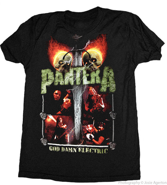 Pantera God Damn Electric Men's Tee