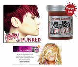 Punky Colour, semi-permanent conditioning hair color, Poppy Red, 3.5 fl oz - DISCONTINUED