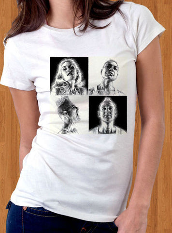 "No Doubt ""Push and Shove"" Women's WHITE T-Shirt"