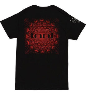 Tool Red Pattern T-Shirt