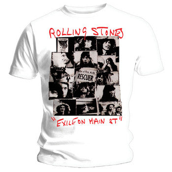 "The Rolling Stones ""Rescuer Collage"" Men's T-Shirt"