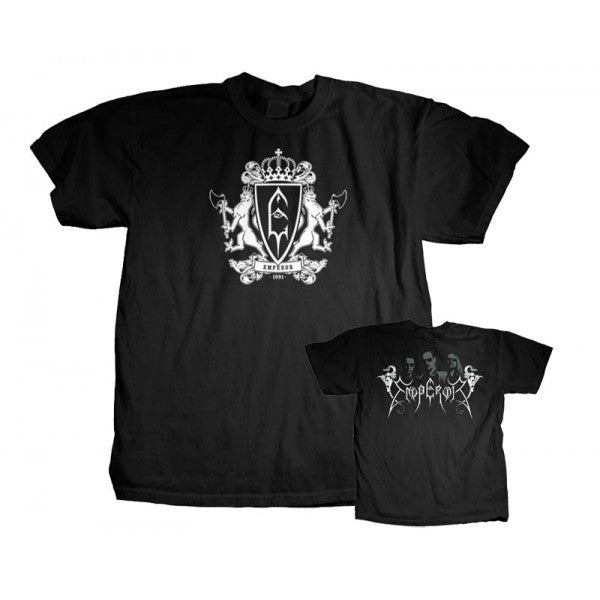 "Emperor ""Royal Crest"" Men's T-Shirt With Back Print"