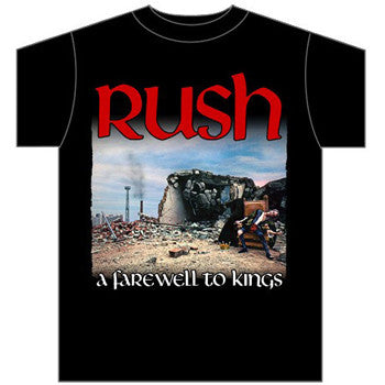 Rush A Farewell To Kings Men's Tee