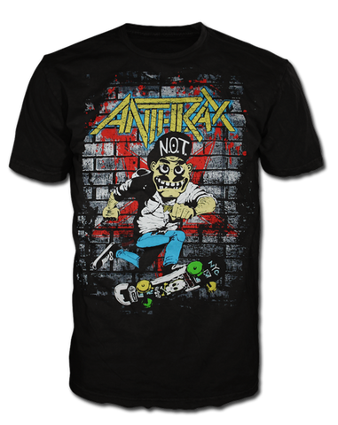 Anthrax Skater T-shirt