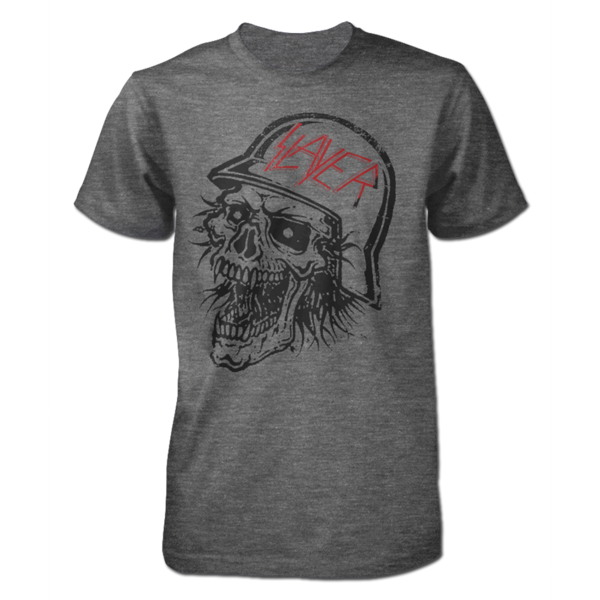"Slayer ""Distressed"" SOFT Gray Men's T-Shirt"