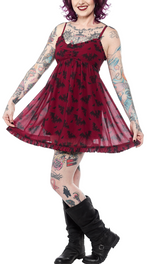 Load image into Gallery viewer, Bat Attack Dolly Dress