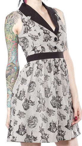 Sourpuss Love Crafty June Dress