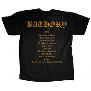 "Bathory ""The Return..."" Men's T-Shirt w/ Back Print"
