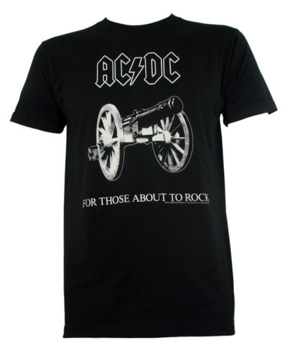 "ACDC ""For Those About To Rock"" Men's SOFT Tee"
